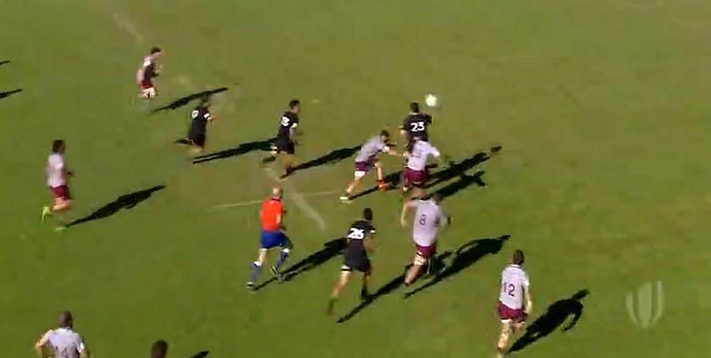 Coupe du monde U20 - Offload à gogo pour les Baby Blacks face à la Géorgie [VIDÉO]