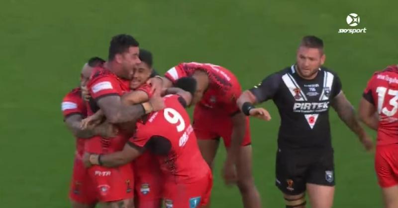 VIDÉO. Coupe du monde XIII : les Tonga écrivent l'histoire et battent la Nouvelle-Zélande