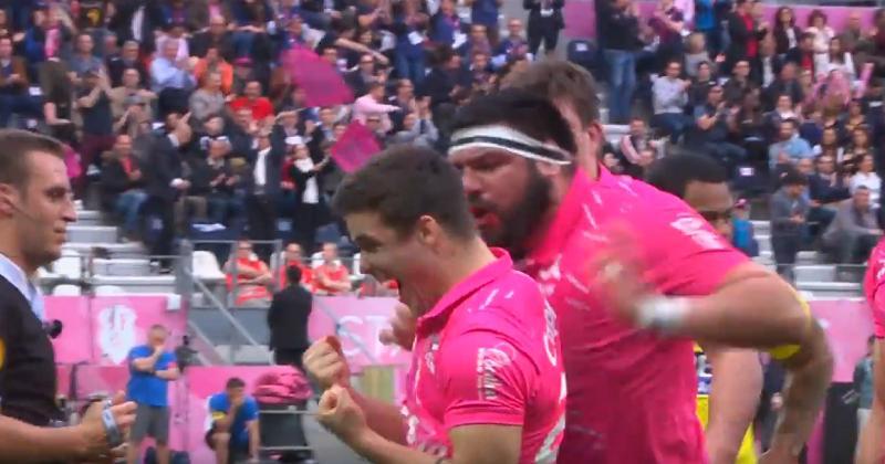 Top 14 - Stade Français. Spectaculaire blessure d'Arthur Coville