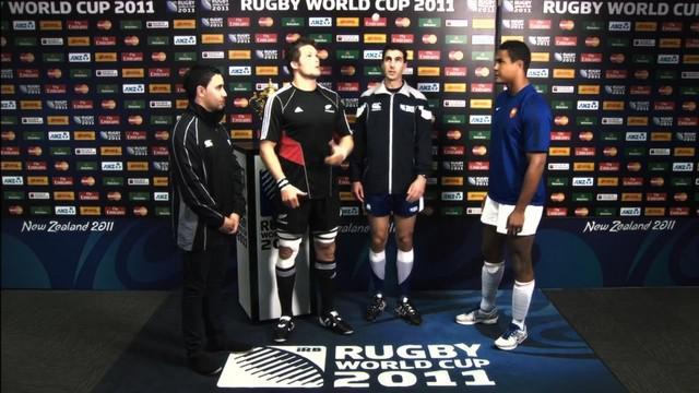 Video coupe du monde craig joubert revient sur la finale - Arbitre finale coupe du monde rugby 2011 ...
