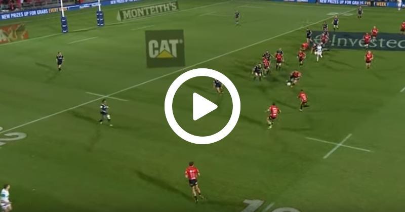 Super Rugby - L'essai collectif de l'année inscrit par les Crusaders en quart de finale ? [VIDÉO]