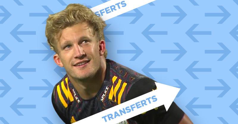 TRANSFERT. Super Rugby. Damian McKenzie quitte les Chiefs pour remplacer Beauden Barrett