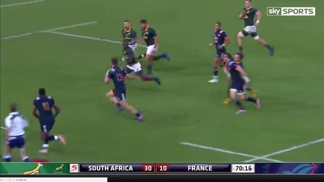 Test Match 2. Afrique du Sud vs France. Quels ont été les meilleurs joueurs ?