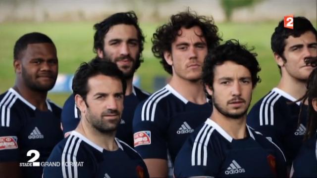 VIDEO. Dans les coulisses de l'équipe de France de rugby à 7 avec l'excellent reportage de Stade 2