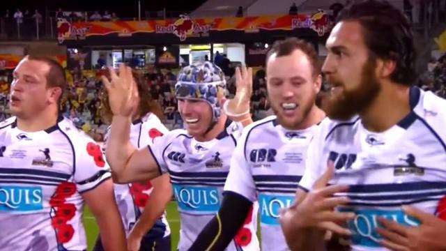 VIDEO. Super Rugby. David Pocock se paye un triplé en 20 minutes