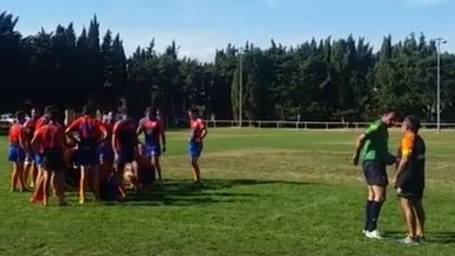 AMATEUR - De la prison ferme pour un joueur après l'agression d'un arbitre en plein match