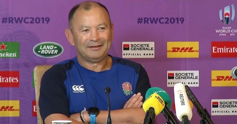 ''Shouganai'', Eddie Jones prend l'annulation du match face à la France avec philosophie