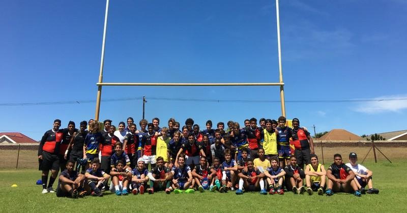 Après la Nouvelle-Zélande, les jeunes du RC Courbevoie ont découvert l'Afrique du Sud