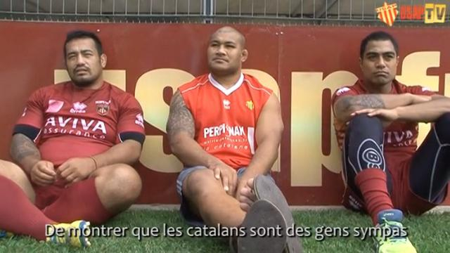 VIDEO. Top 14 - USAP. Kisi Pulu : « Ce sont des Catalans ici, pas des Français »