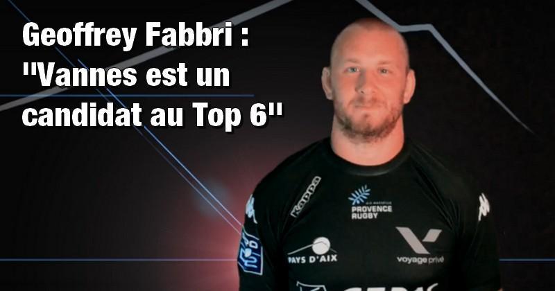 Pro D2 - Provence Rugby. Geoffrey Fabbri donne les clés du match face à Vannes