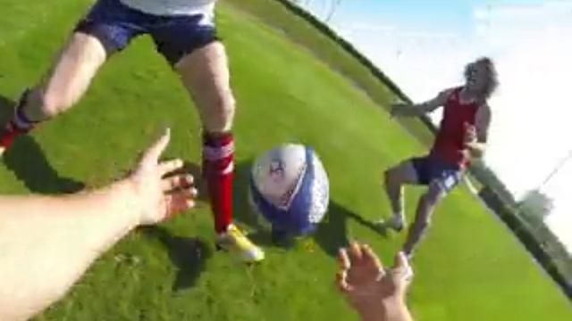 VIDEO. Incarnez un joueur de rugby à 7 lors d'un entraînement de l'équipe de France