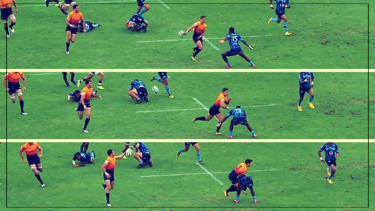 Super Rugby - Díaz Bonilla fait passer un champion du monde pour un poteau de touche [VIDÉO]