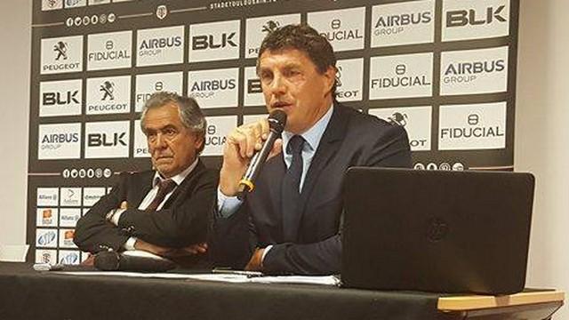 Didier Lacroix devient président — Stade Toulousain