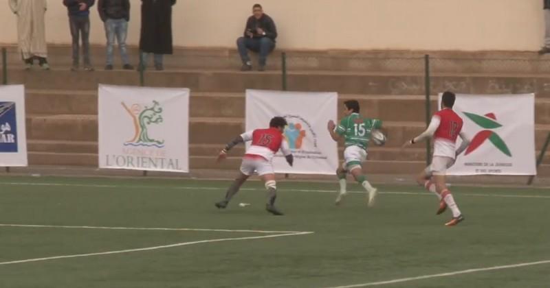 VIDEO. Tri Nations - Algérie. Djamel Ouchène punit la Tunisie sur 70 mètres