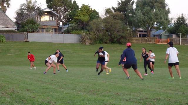 Djossouvi Koumiba au pays du rugby pour se ressourcer