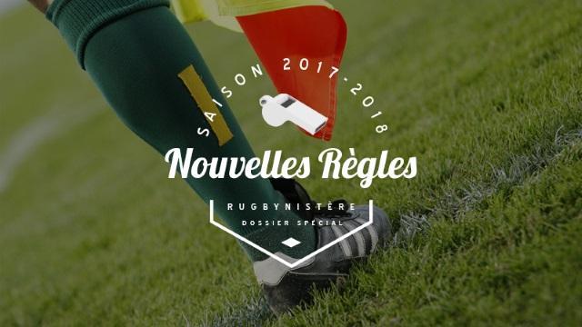 Dossier nouvelles règles - Eté 2017. Les protections en bordure de ruck
