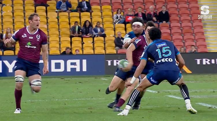 Super Rugby - Double ''chisté'' pour le record du futur Bordelais Scott Higginbotham [VIDÉO]