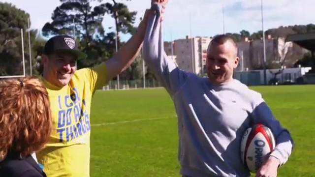 VIDEO. INSOLITE. Drew Mitchell s'associe à Matt Giteau pour battre un nouveau record du monde