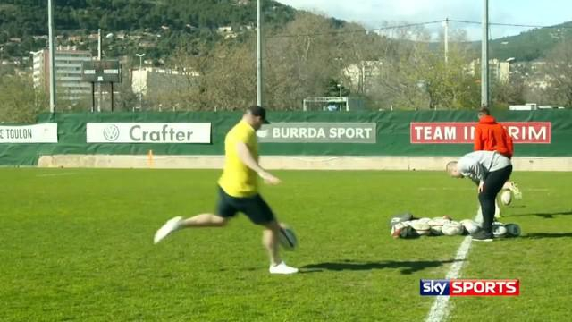 VIDEO. INSOLITE. Drew Mitchell veut faire oublier Jonny Wilkinson en battant un record du monde de drops