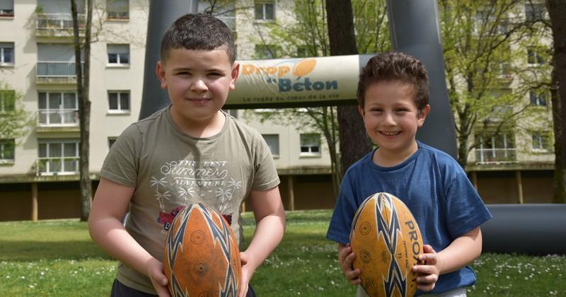 Drop de Béton oeuvre pour l'insertion sociale des publics en difficulté grâce au rugby