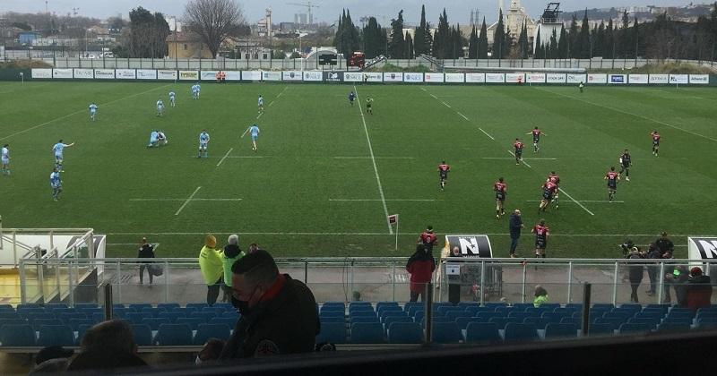 Du froid, de la Nationale et du rugby : j'ai pu voir Nice vs Massy