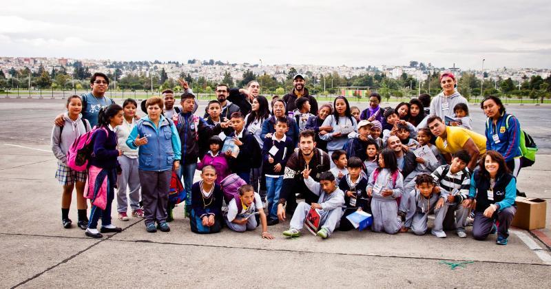 Du Nicaragua à l'Equateur, un Français oeuvre pour aider les enfants grâce au rugby