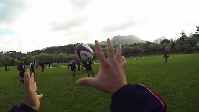 VIDEO. Le rugby comme dans les jeux vidéo grâce à une Go Pro