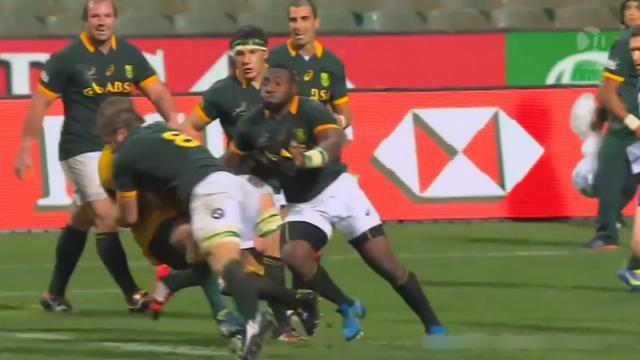 VIDEO. Rugby Championship - Duane Vermeulen aplatit James Slipper comme une crêpe avec un énorme caramel