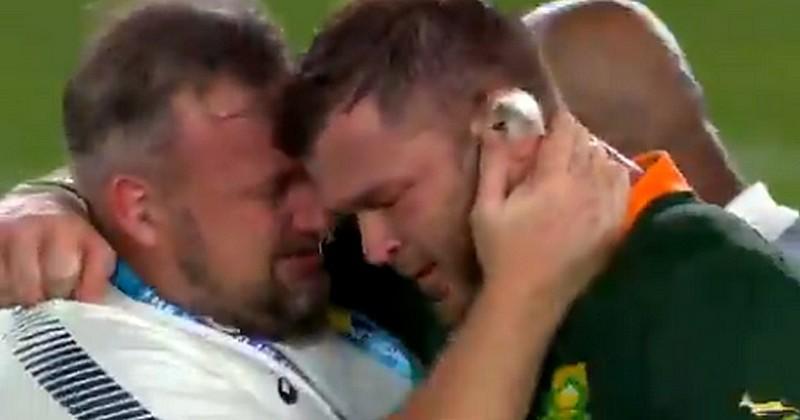 Coupe du monde - Duane Vermeulen ne peut contenir son émotion après la finale [VIDÉO]