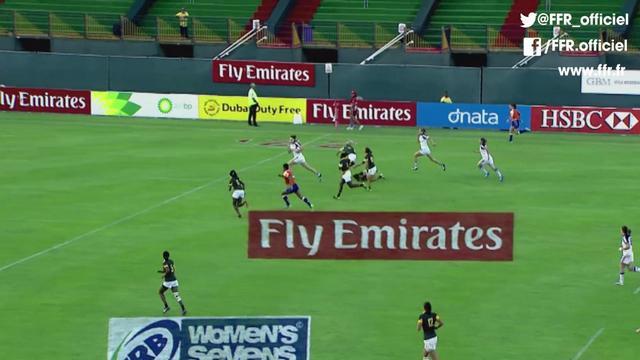 VIDEO. Dubaï Seven. Les Bleues régalent et font douter les Néo-Zélandaises en demi-finale de la Cup
