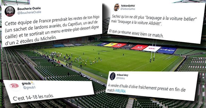 Dulin, l'arbitrage, les touches, les réseaux sociaux ont fait de l'huile devant Irlande/France