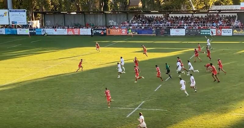 VIDEO. Dupont et Ntamack font l'amour à la jeune défense de Toulon pour de superbes essais