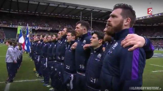 VIDEO. 6 Nations - Ecosse : le Flower of Scotland a cappella face au XV de France