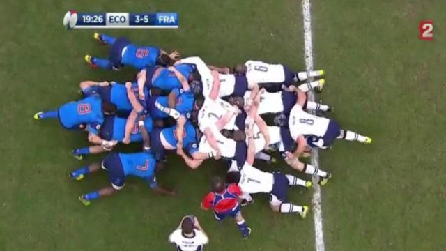 VIDEO. 6 Nations - Autopsie des mêlées du match Ecosse - XV de France