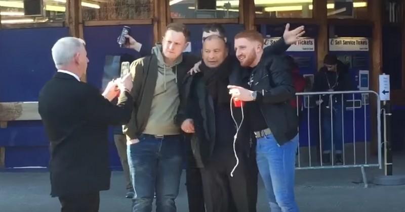 VIDÉO. DESINTOX. Eddie Jones a-t-il été agressé par des supporters écossais ?