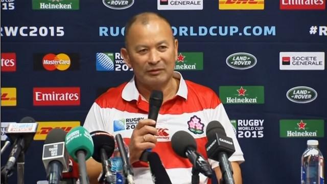 Coupe du monde. Japon. Eddie Jones : « Le rugby emprunte un chemin dangereux »