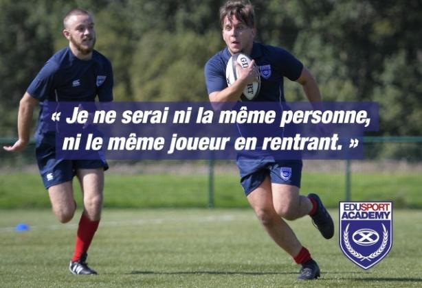 Etudiants : partez un an, jouez au Rugby en Ecosse, et apprenez l'anglais avec Edusport Academy