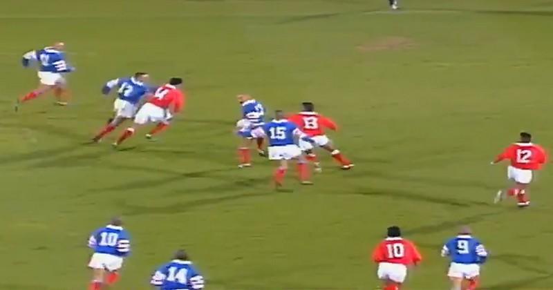 En 95, le French Flair tricolore avait donné le tournis aux Tonga [VIDEO]