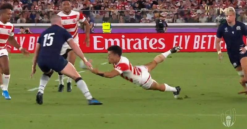 En l'espace de 40min, le Japon a donné une leçon de rugby aux Écossais [VIDÉO]