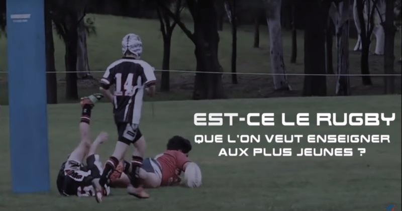 En vidéo, la FFR explique la nouvelle règle du passage en force à l'école de rugby