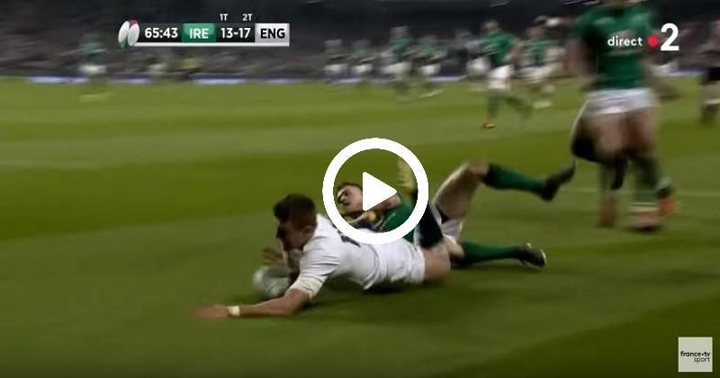 Slade intercepte pour offrir le bonus offensif aux Anglais en Irlande [VIDÉO]