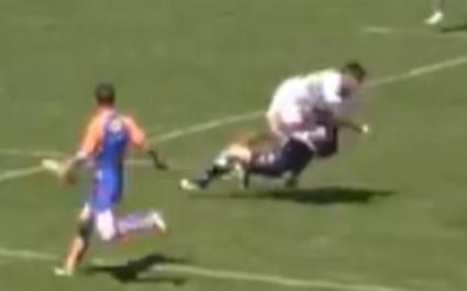 VIDEO. Seva Galala met un tampon terrible et gagne le titre