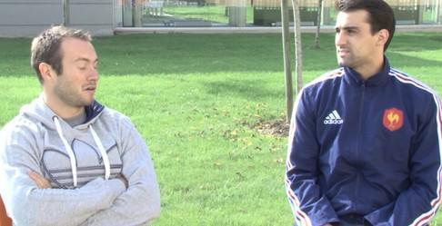 Paul Albaladejo et Renaud Delmas, internationaux à 7, se confient lors d'un questions/réponses