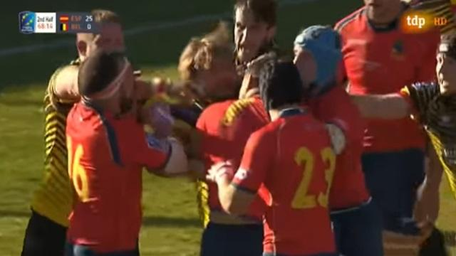 VIDEO. Rugby Europe Championship: l'Espagne rêve de la Coupe du monde après son large succès sur la Belgique