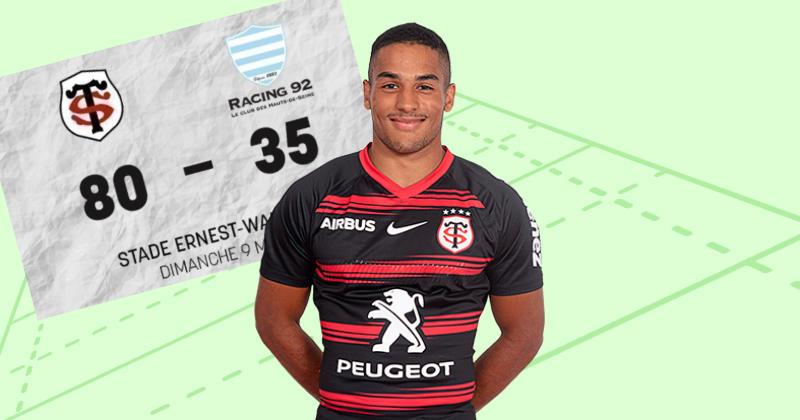 Espoirs. Dans un match à 115 points, le Stade Toulousain plante 12 essais au Racing 92 [VIDÉO]