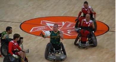 L'Australie domine le Canada lors de la finale de Rugby Fauteuil à Londres