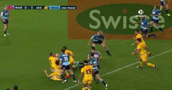 Video. Super Rugby : Les avants des Jaguares enchaînent les offloads pour un essai magnifique contre les Waratahs