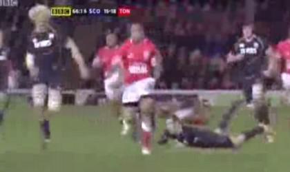 Les Tonga l'emportent en Ecosse, Andy Robinson démissionne