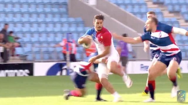 Exeter 7s. Les Bleus s'inclinent en finale malgré le gros match de Sofiane Guitoune
