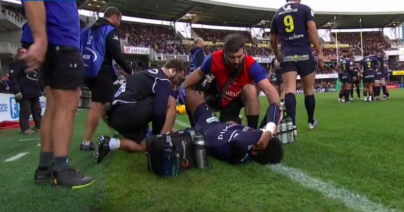 Coup dur pour Clermont et le XV de France avec la blessure de Samuel Ezeala